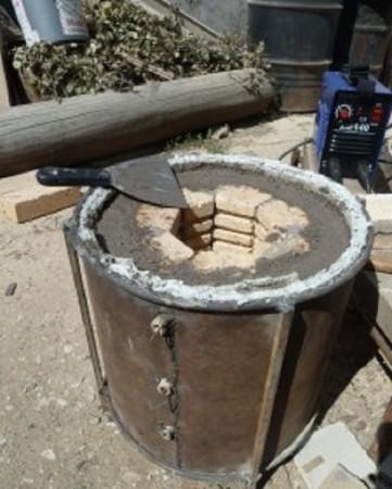 Как сделать шамотная глину