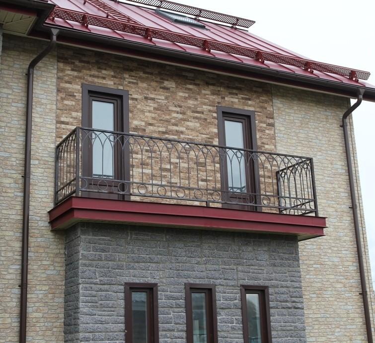 Фасадные панели под камень.